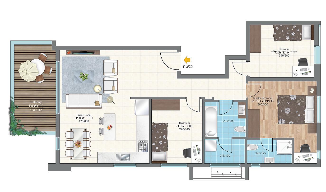 4room_floor_3-4 (1)