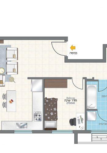 4room_floor_3-4